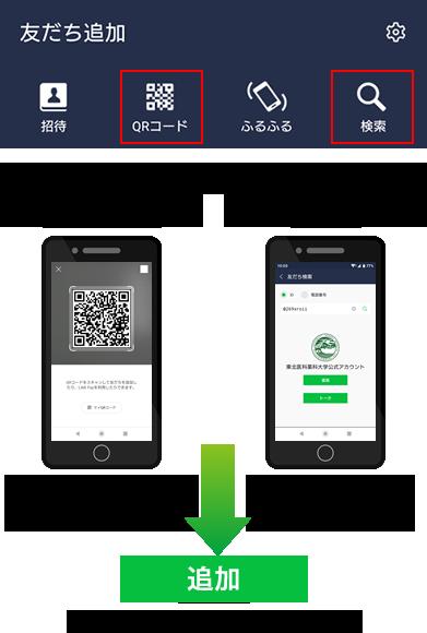 東北医科薬科大学LINEカウント登録方法-2