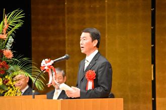 村井宮城県知事による祝辞