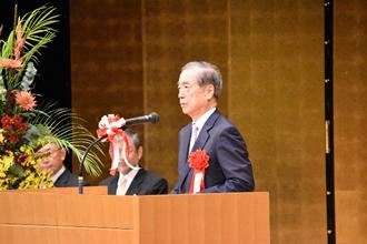 私立大学協会 副会長・学校法人日本医科大学赫 理事長による祝辞