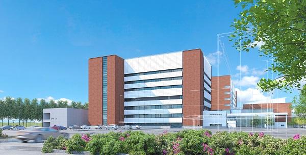 新大学病院棟 完成予想図