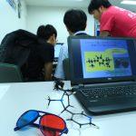 赤青メガネで見る分子の世界