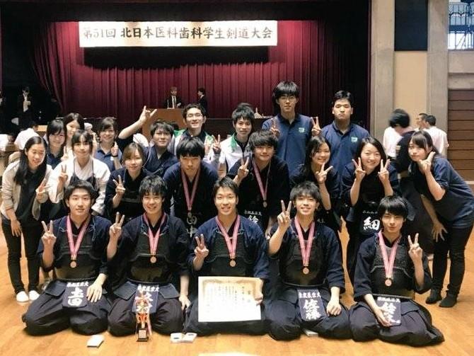 本学剣道部が北医体において第3位に入賞しました | 東北医科薬科大学